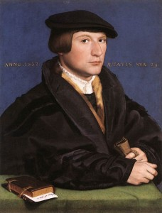 Holbein the Younger, Portrait of a Member of the Wedigh Family, 1532