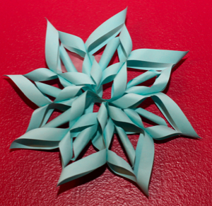 3D Paper SnowFlakes – CraftSanity – A blog and podcast for