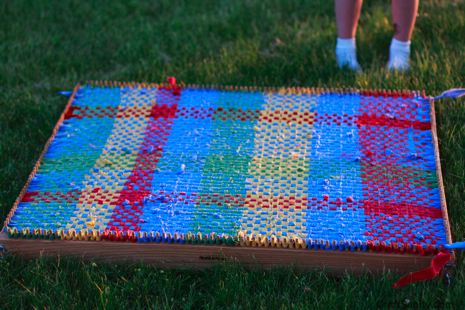 Rug Weaving Now That S It S Done I Don T Want To Step On