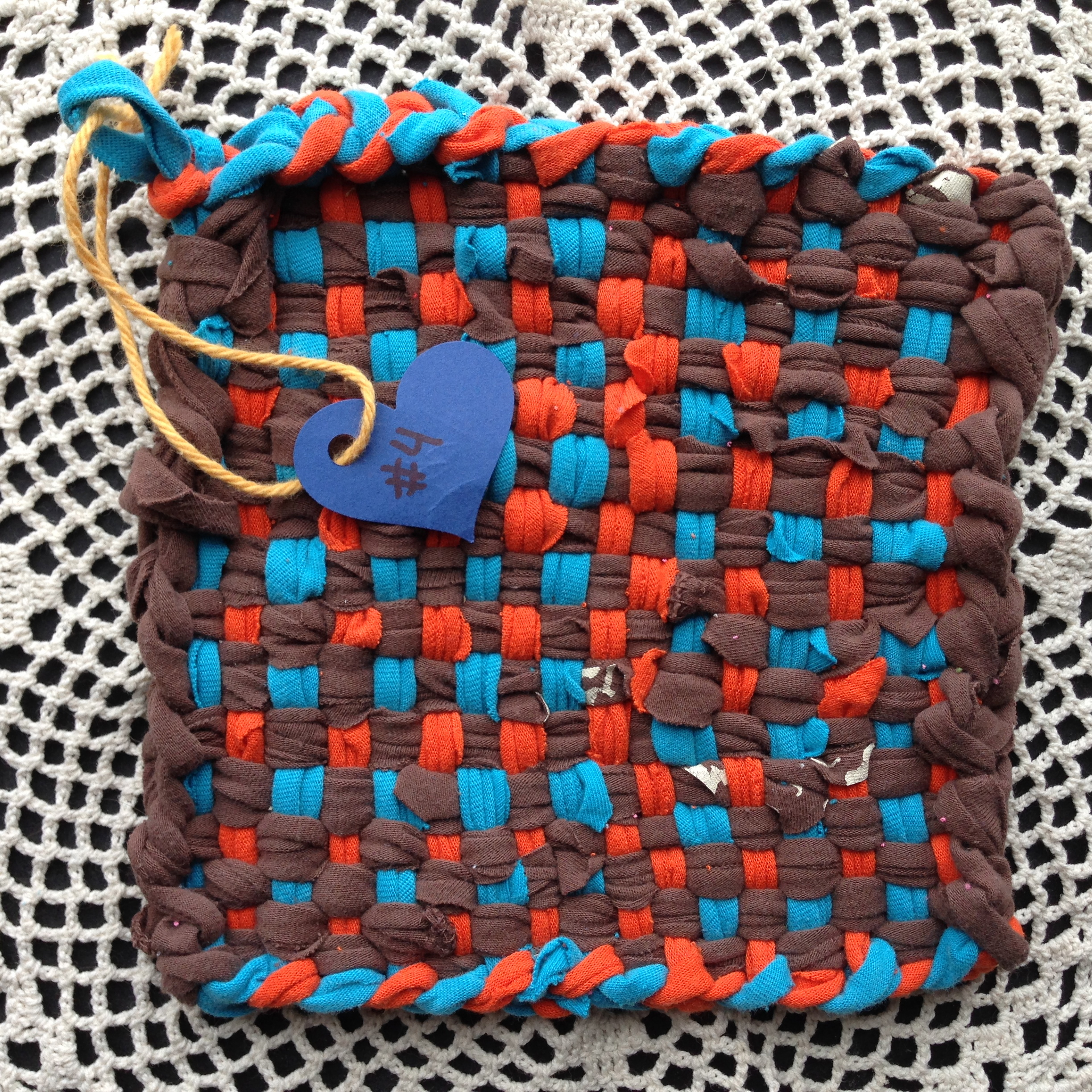 Potholder LOVE: A fundraiser to help the Wes Leonard Heart Foundation get more AEDs in schools