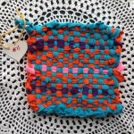 SOLD Potholder 11 by Alana - Reserved by Lynne