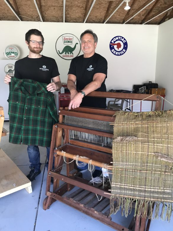 CraftSanity Podcast Episode 214: Road trip to South Haven, Michigan where a woodworker is working to revive his great grandfather's loom business, McGarr Norwood Looms Co.